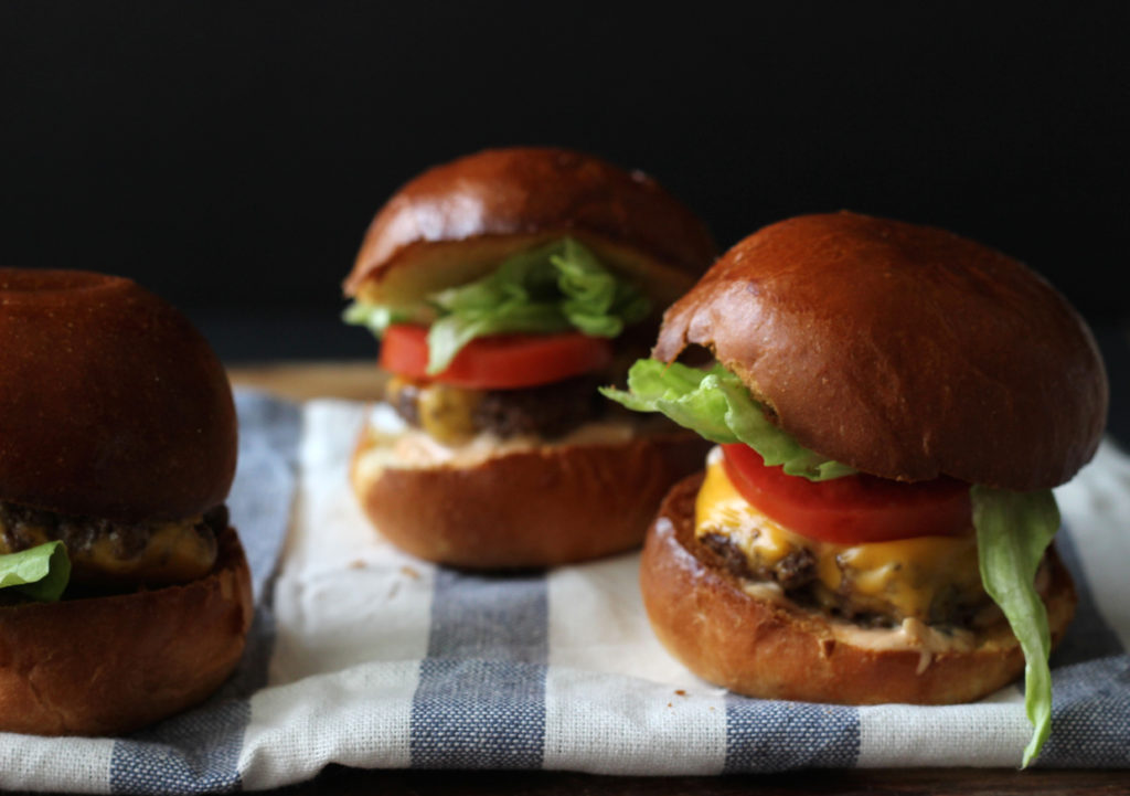 In N Out Inspired Sliders