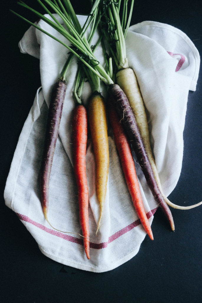 Miso Maple Carrots